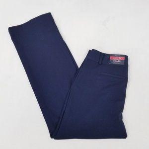 Rafaella Curvy Fit Navy Pants w/Stretch - 8 - NWT